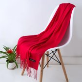 Cashmere Sjaal | Rood | Accessoires