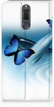 Smart Cover Huawei Mate 10 Lite Hoesje Vlinders
