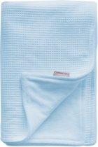 Cottonbaby - Wiegdeken Gevoerd 75x90 cm - Lichtblauw
