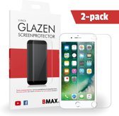 2-pack BMAX Glazen Screenprotector iPhone 7 plus