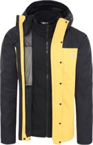 The North Face Quest Triclimate Heren Outdoor Jas - TNF Yellow / TNF Black - Maat M