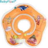 BabyFloat Zwemring - Zwemband voor om de nek - Baby swimmer - Oranje