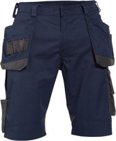Korte werkbroeken Dassy BIONIC Korte Werkbroek Nachtblauw/AntracietNL:54 BE:50