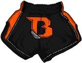 Booster Short TBT Pro 2 Zwart/Oranje Large