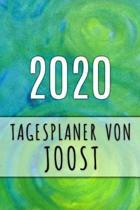 2020 Tagesplaner von Joost: Personalisierter Kalender f�r 2020 mit deinem Vornamen