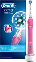 Oral-B PRO 2 2000 CrossAction Pink Elektrische Tandenborstel