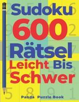Sudoku 600 R�tsel Leicht Bis Schwer: Denkspiel F�r erwachsene - Logikspiele F�r Erwachsene