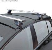 Twinny load Dakdragerset Twinny Aluminium A32 Opel Zafira B (voor auto's zonder dakreling)