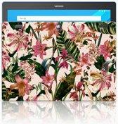 Lenovo Tab 10   Tab 2 A10-30 Uniek Tablethoesje Flowers