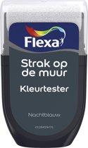 Flexa Strak op de Muur Tester - Watergedragen - Mat - nachtblauw - 0,3 liter