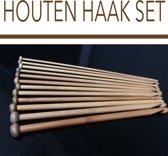 Houten haak set