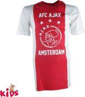 T-shirt ajax wit/rood/wit AFC maat 152