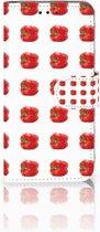 Samsung Galaxy S10e Boekhoesje Design Paprika Red
