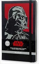 Moleskine Limited Edition Star Wars - 12 Months Weekly Notebook - Large - Black - Hard Cover