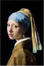 REINDERS Johannes Vermeer - Meisje met de parel - Poster - 61x91,5cm