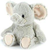 Elephant marshmallow - warmtekussen lavendel - Olifant Kleur:  Licht grijs