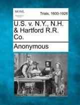 U.S. V. N.Y., N.H. & Hartford R.R. Co.