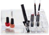 Luxe Cosmetica Organizer | Make Up Organizer | Acryl | Make-Up Organizer | Accessoires | 16 Vakjes