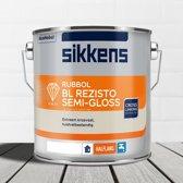 Sikkens-Rubbol-BL Rezisto Semi-Gloss-Ral 9016 Verkeerswit-2,5 Liter