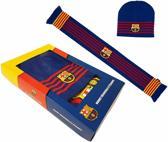 FC Barcelona Sjaal & Muts - Volwassenen - Reversible - Barca