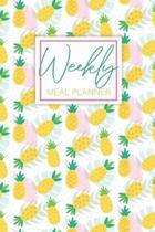 Week Meal Planner: Pineapples Cover, 52 Week Food Planner & Grocery List Menu Planning Pages Prep, Eat Records Journal Diary Shopping Lis