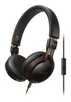 Philips Citiscape SHL5705 - On-ear koptelefoon - Zwart/Bruin