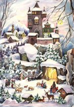Adventskalender 77  Kerst in het Kasteel.