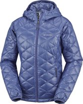 Columbia Trask Mountain Jas Dames 650 TurboDown Hooded blauw Maat L