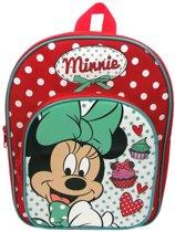 Disney Minnie Mouse Rugzak 29 X 32 X 8 Cm Rood