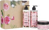 Love Beauty and Planet Luxe Geschenkset - Muru Muru Butter & Rose - Kerstcadeau
