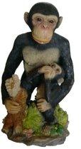 Aap decoratie beeld voor tuin en binnen – aapjes beelden   GerichteKeuze