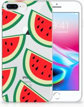 Apple iPhone 7 Plus | 8 Plus TPU-silicone Hoesje Watermelons