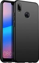 ShieldCase Ultra thin Huawei P20 Lite case (zwart) + gratis glazen Screenprotector