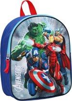 Avengers Save The Day (3D) Kinderrugzak 3D - 9,3 l - Blauw