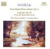 Dvorak: Four-Hand Piano Music Vol 1 / Matthies, Kohn