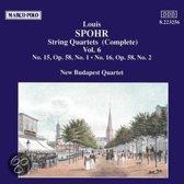 Spohr: String Quartets Vol.6