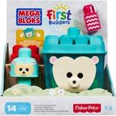 Mega Bloks First Builders Bouw en Wiebel Egel - Constructiespeelgoed