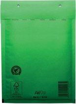 Luchtkussenenveloppen 180x265 mm doos van 100 stuks groen