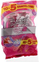 Wilkinson Sword Extra 2 Beauty - 15 stuks - Wegwerpscheermesjes