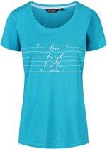 Regatta-Filandra III-Outdoorshirt-Vrouwen-MAAT S-Blauw