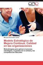 Modelo Estrategico de Mejora Continua