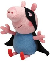 Pluche Peppa Big George held 23 cm