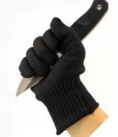 Oesterhandschoen zwart (1 Maat voor iedere hand)
