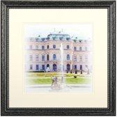 Fotolijst - Henzo - Capital Wien - Fotomaat 40x40 - Zwart