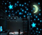 Glow In The Dark Sterren (100 stuks) - Decoratie Stickers - Muurstickers - Kinderkamer Decoratie - Kinderen