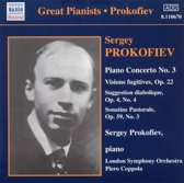 Great Pianists - Prokofiev plays Prokofiev: Piano Concerto no 3 etc