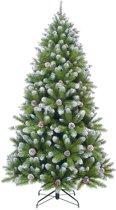Triumph Tree kunstkerstboom empress spruce met cone maat in cm: 185 x 107 met sneeuw