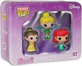 Funko Pop! Pocket Tins: Disney Ariel, Tinkerbell, Belle 3 Pack - Verzamelfiguur