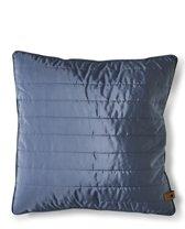 Rivièra Maison - RM Winter Jacket Pillow Cover steel 50x50 - Sierkussen - Blauw - Polyester