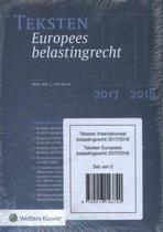 Omslag van 'Teksten Internationaal & Europees belastingrecht 2017/2018'